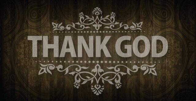 Express your faith by thanking the Father