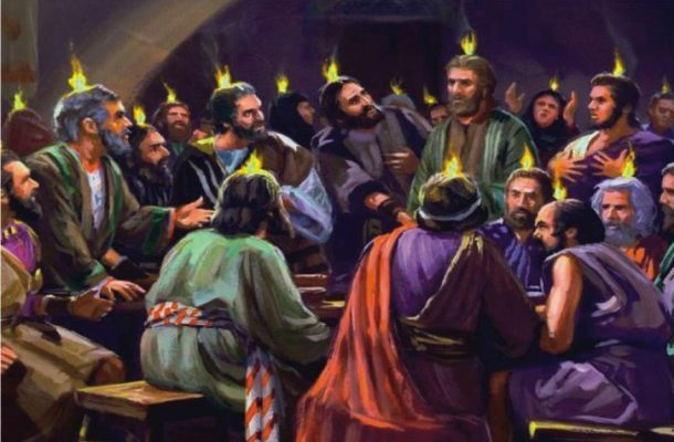 Your Pentecost has fully come!