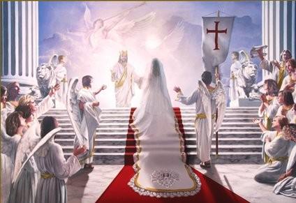 The Bride is preparing herself